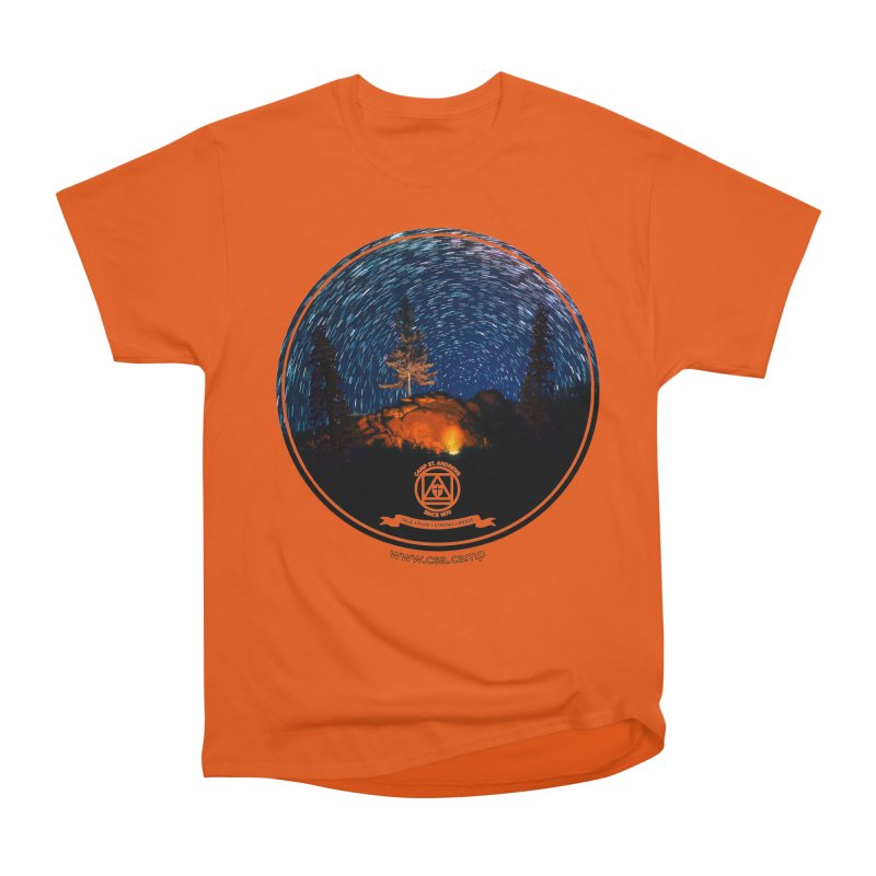 Campfire Starswirl Men's T-Shirt by Camp St. Andrews