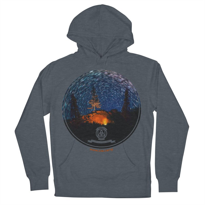 Campfire Starswirl Men's French Terry Pullover Hoody by Camp St. Andrews