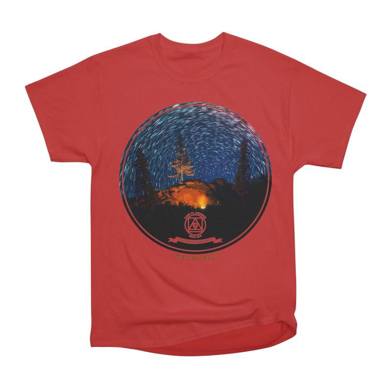 Campfire Starswirl Women's Heavyweight Unisex T-Shirt by Camp St. Andrews