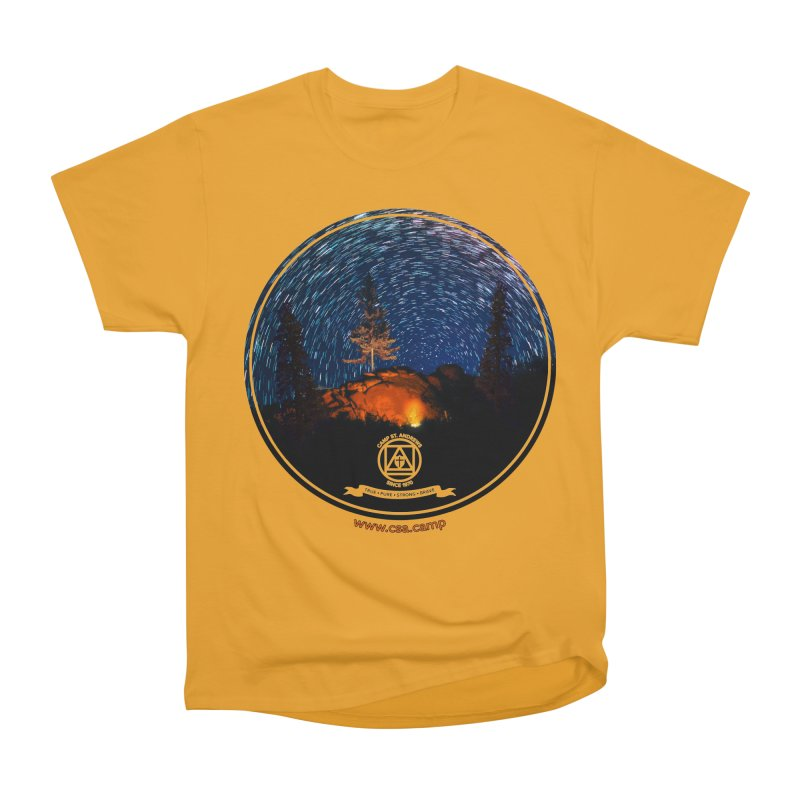Campfire Starswirl Women's Heavyweight Unisex T-Shirt by Camp St. Andrews