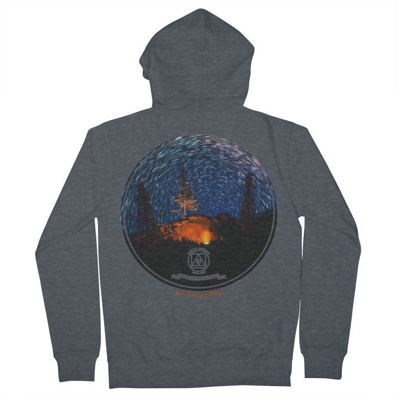 Campfire Starswirl Women's French Terry Zip-Up Hoody by Camp St. Andrews
