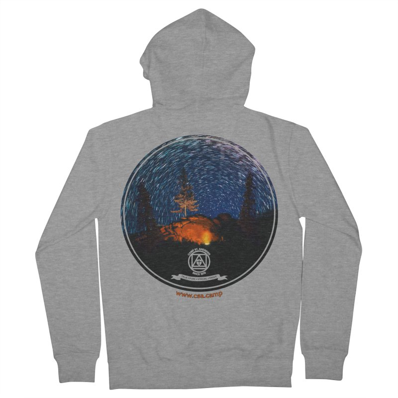 Campfire Starswirl Men's French Terry Zip-Up Hoody by Camp St. Andrews