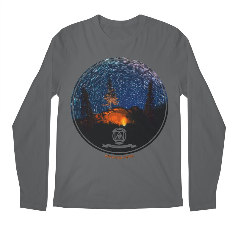 Campfire Starswirl Men's Regular Longsleeve T-Shirt by Camp St. Andrews