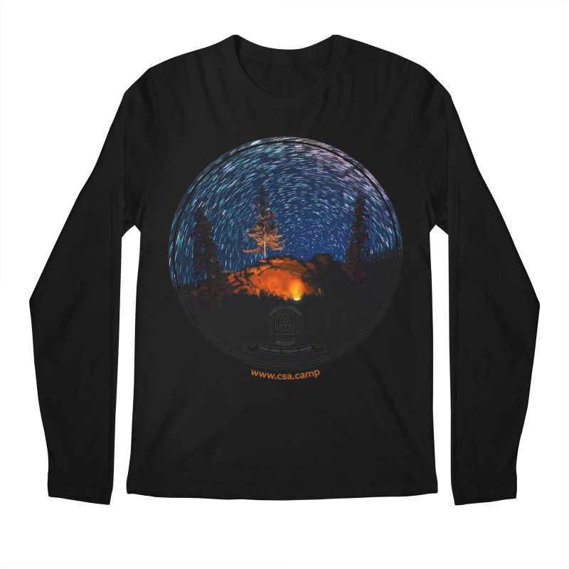 Campfire Starswirl Men's Regular Longsleeve T-Shirt by Camp St. Andrews