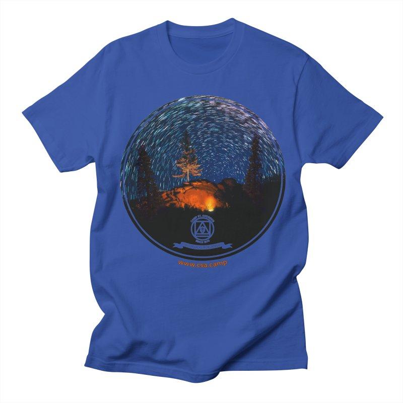 Campfire Starswirl Men's Regular T-Shirt by Camp St. Andrews