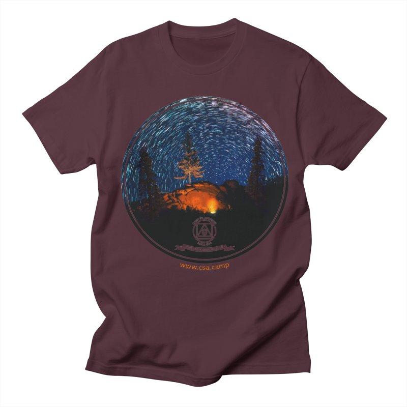 Campfire Starswirl Women's Regular Unisex T-Shirt by Camp St. Andrews
