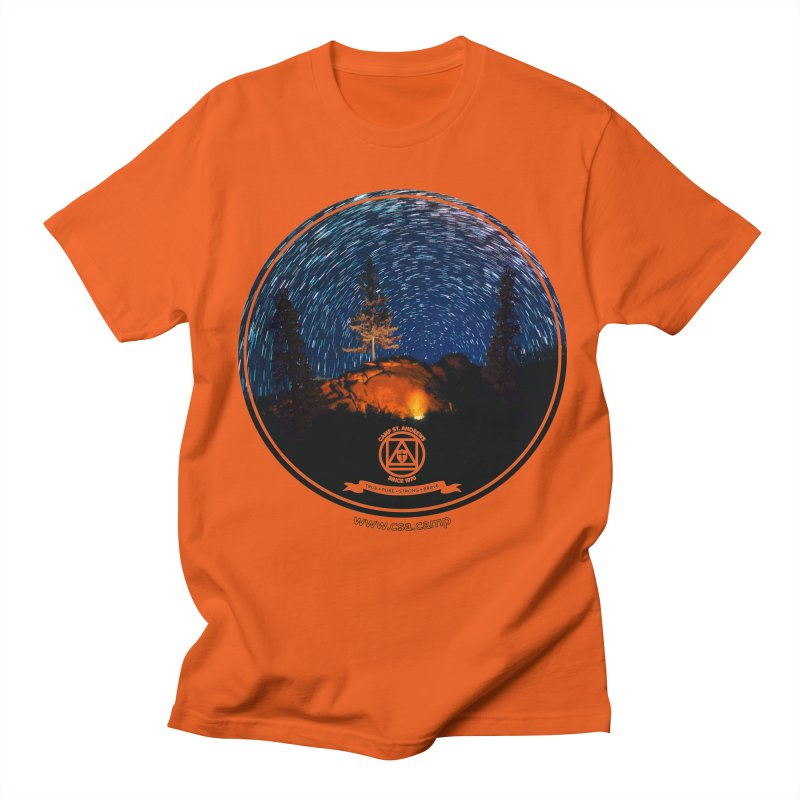 Campfire Starswirl Women's Regular Unisex T-Shirt by Camp St. Andrews