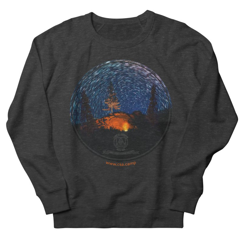 Campfire Starswirl Women's French Terry Sweatshirt by Camp St. Andrews
