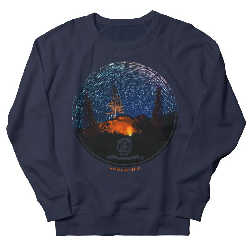 Campfire Starswirl Men's French Terry Sweatshirt by Camp St. Andrews
