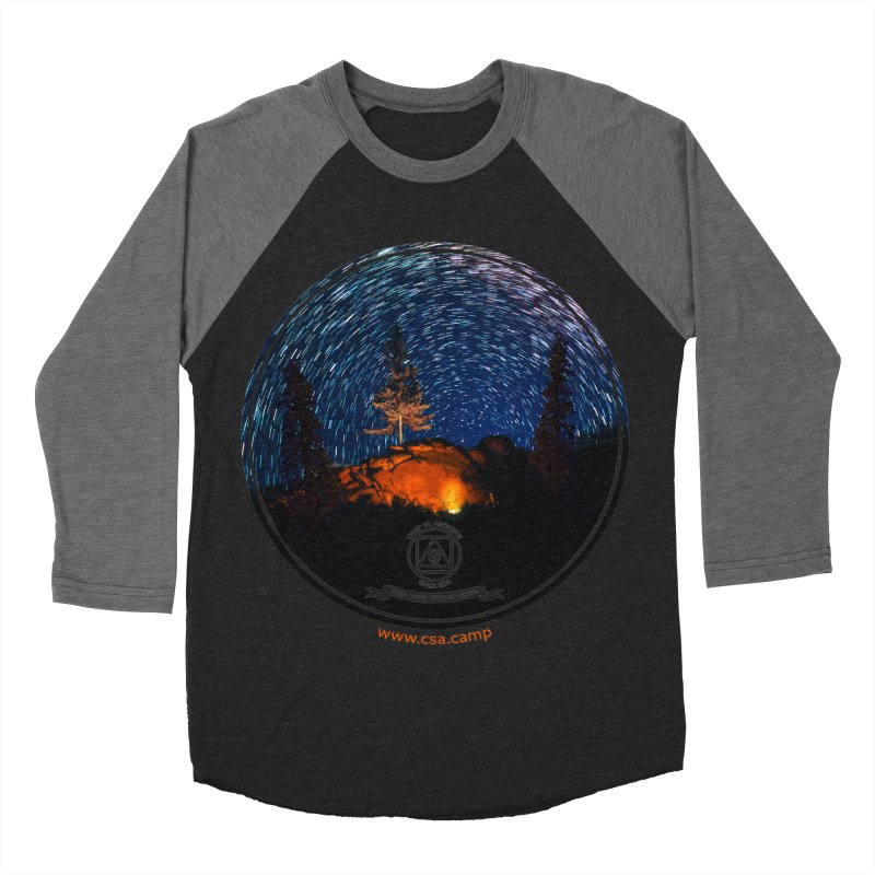 Campfire Starswirl Women's Baseball Triblend Longsleeve T-Shirt by Camp St. Andrews
