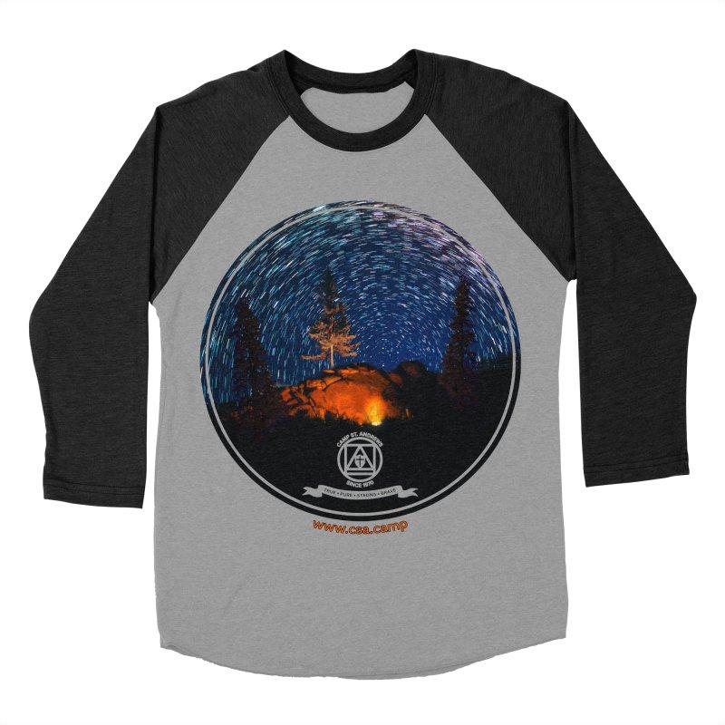 Campfire Starswirl Women's Baseball Triblend Longsleeve T-Shirt by Camp St. Andrews