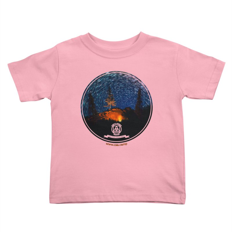 Campfire Starswirl Kids Toddler T-Shirt by Camp St. Andrews