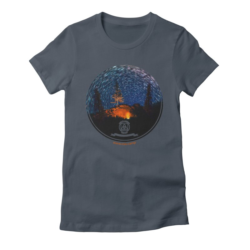 Campfire Starswirl Women's T-Shirt by Camp St. Andrews