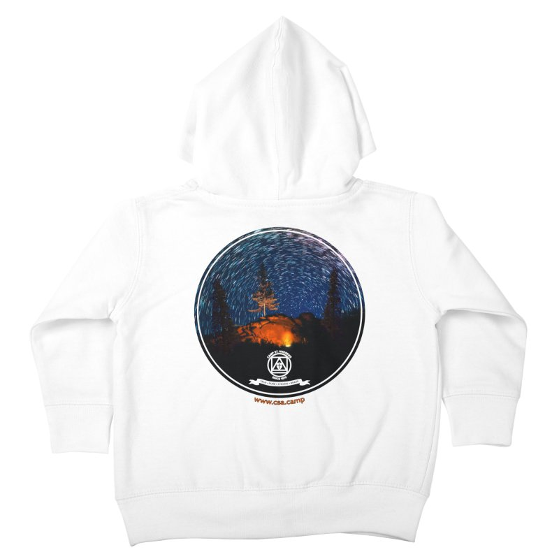 Campfire Starswirl Kids Toddler Zip-Up Hoody by Camp St. Andrews