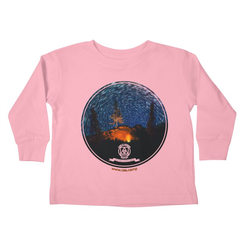 Campfire Starswirl Kids Toddler Longsleeve T-Shirt by Camp St. Andrews