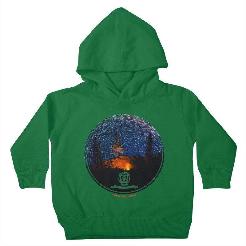 Campfire Starswirl Kids Toddler Pullover Hoody by Camp St. Andrews