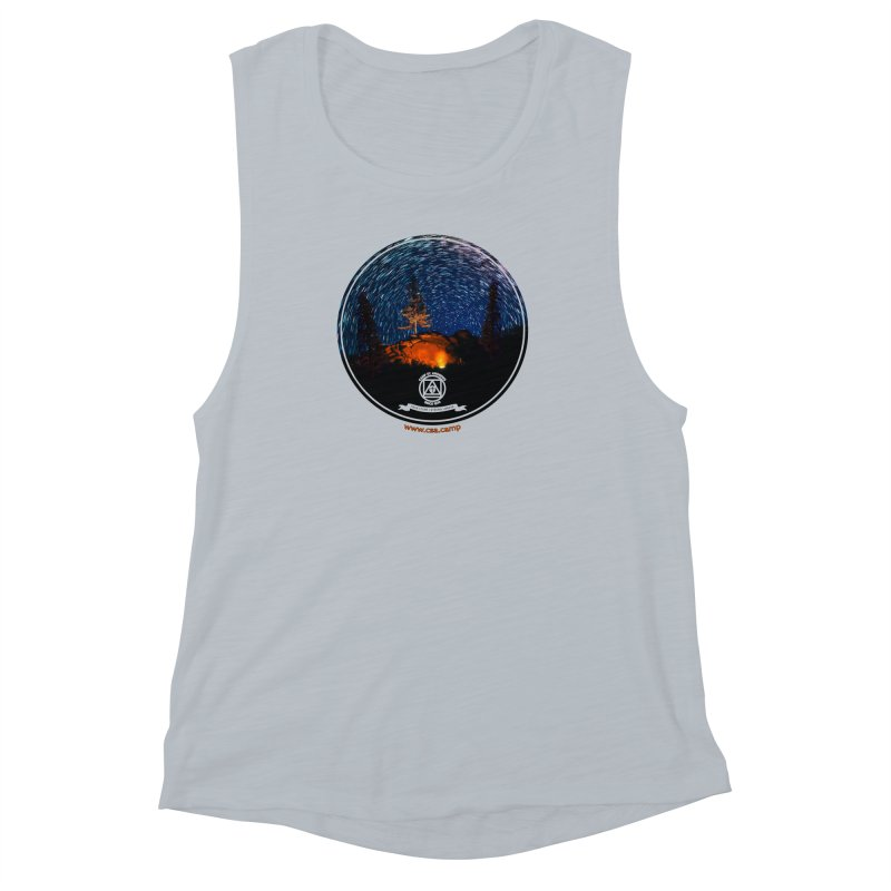 Campfire Starswirl Women's Muscle Tank by Camp St. Andrews