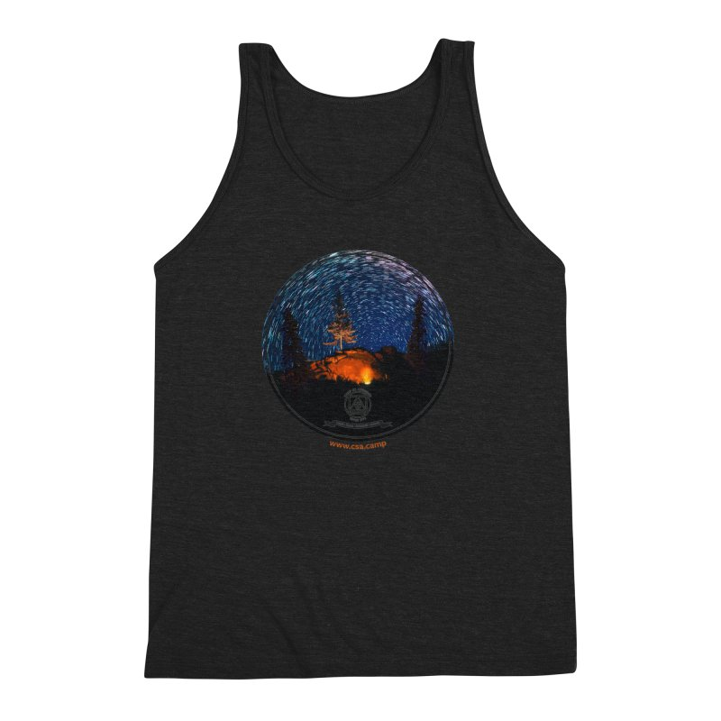 Campfire Starswirl Men's Triblend Tank by Camp St. Andrews