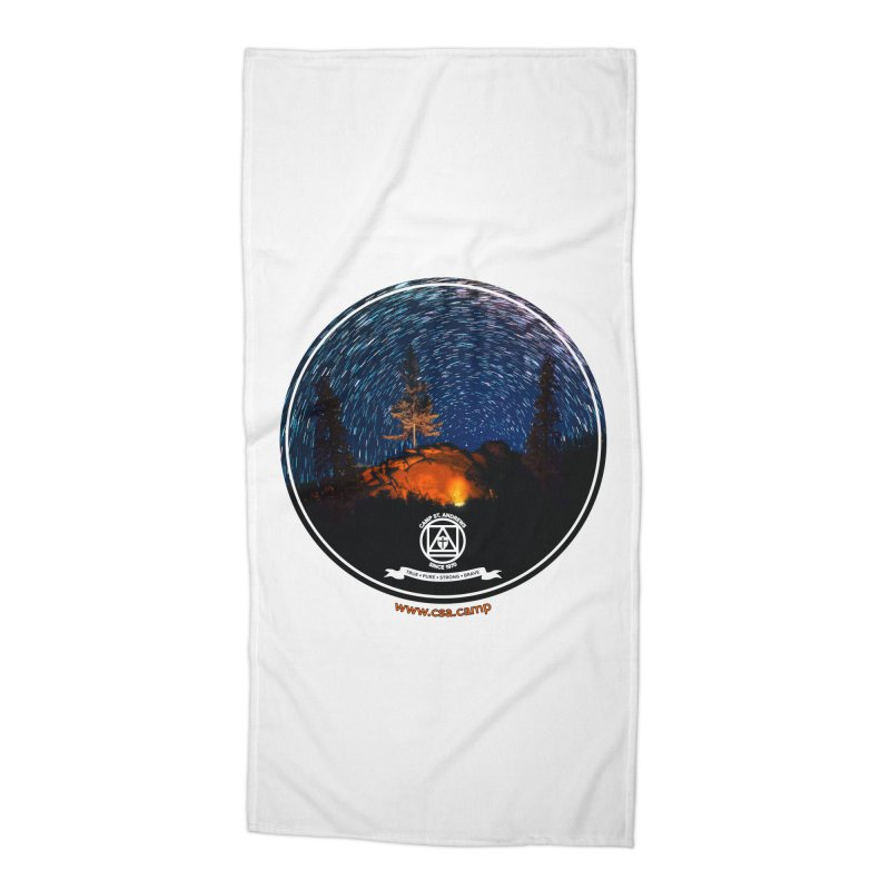 Campfire Starswirl Accessories Beach Towel by Camp St. Andrews