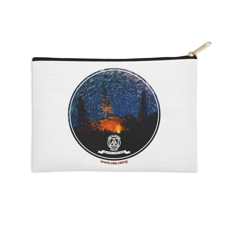 Campfire Starswirl Accessories Zip Pouch by Camp St. Andrews
