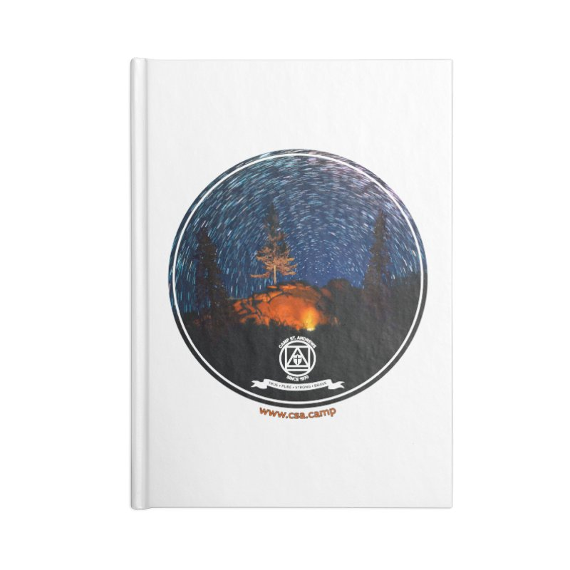 Campfire Starswirl Accessories Blank Journal Notebook by Camp St. Andrews