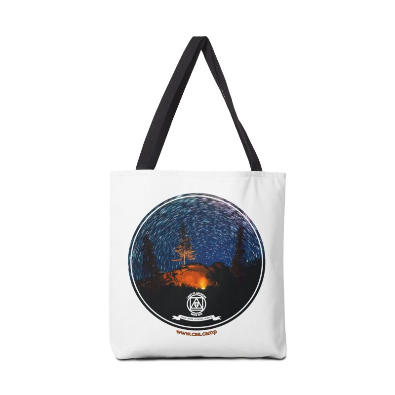 Campfire Starswirl Accessories Tote Bag Bag by Camp St. Andrews