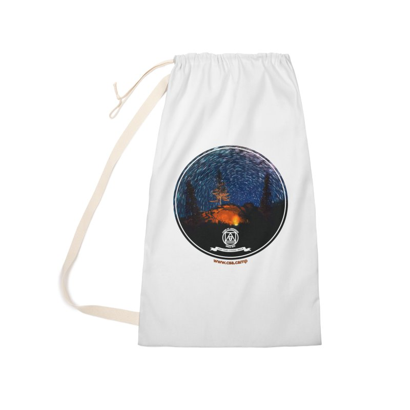 Campfire Starswirl Accessories Laundry Bag Bag by Camp St. Andrews