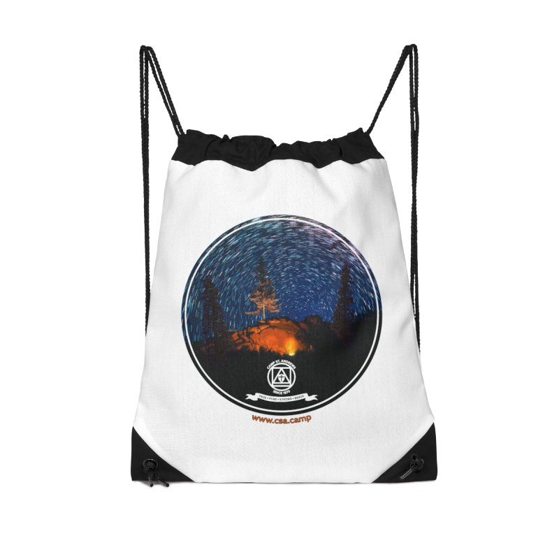 Campfire Starswirl Accessories Drawstring Bag Bag by Camp St. Andrews