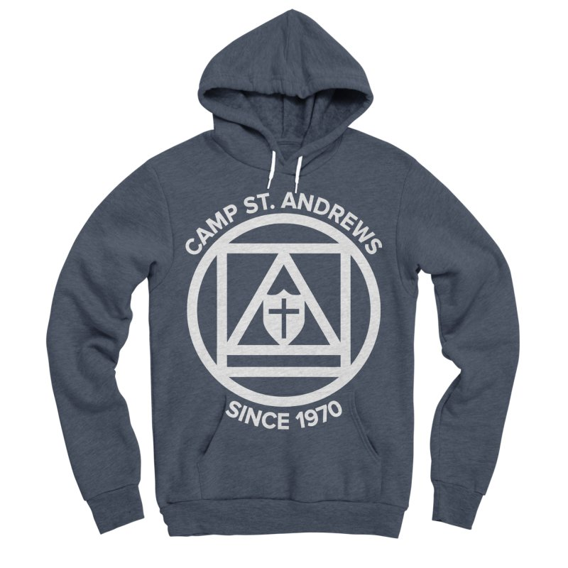 CSA Scarf Symbol Men's Sponge Fleece Pullover Hoody by Camp St. Andrews