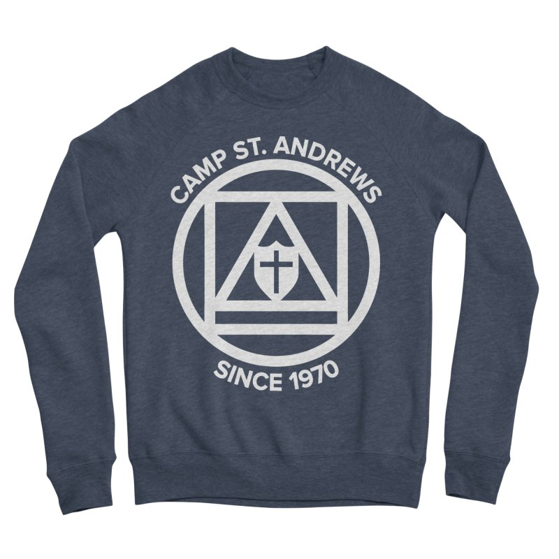 CSA Scarf Symbol Men's Sponge Fleece Sweatshirt by Camp St. Andrews