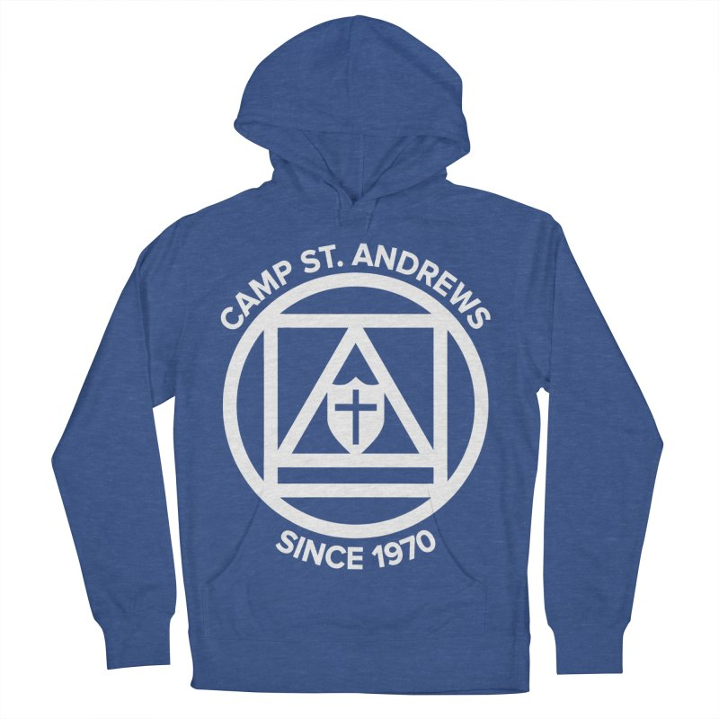 CSA Scarf Symbol Men's French Terry Pullover Hoody by Camp St. Andrews