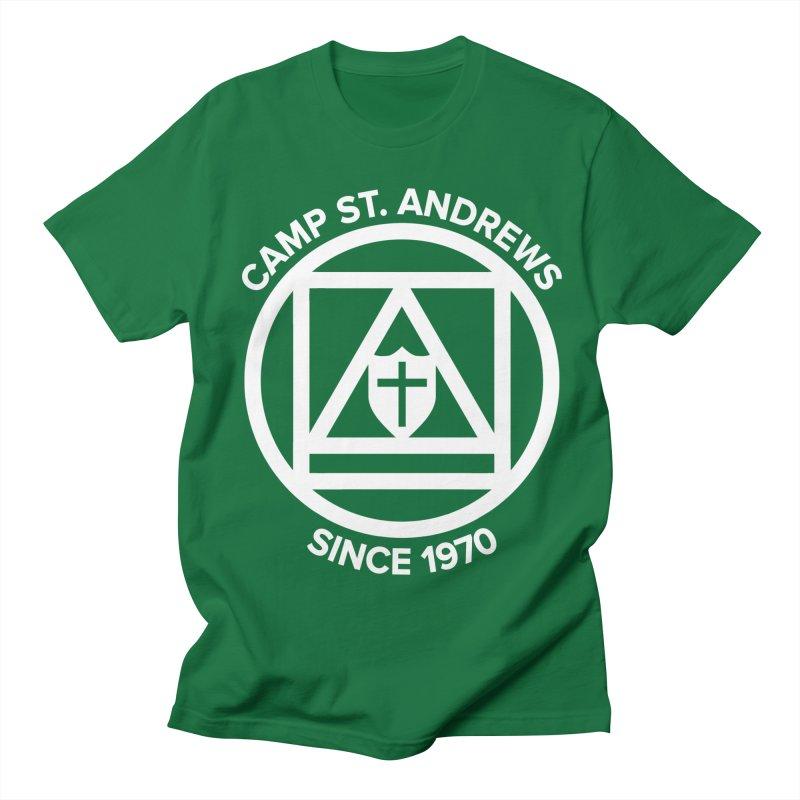 CSA Scarf Symbol Men's Regular T-Shirt by Camp St. Andrews