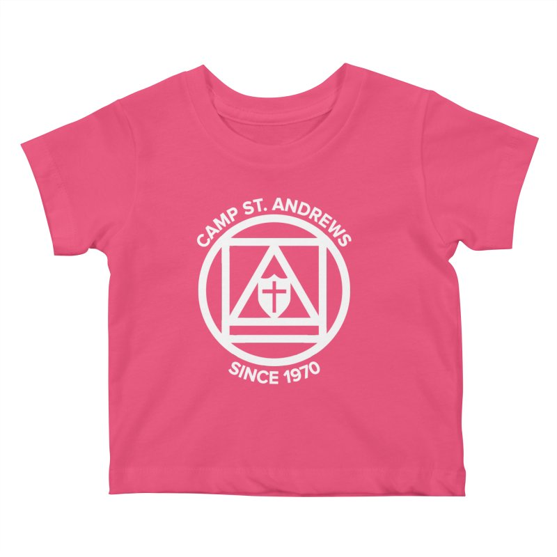 CSA Scarf Symbol Kids Baby T-Shirt by Camp St. Andrews