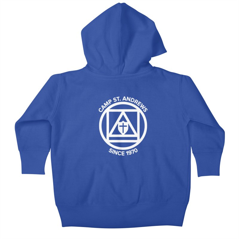 CSA Scarf Symbol Kids Baby Zip-Up Hoody by Camp St. Andrews