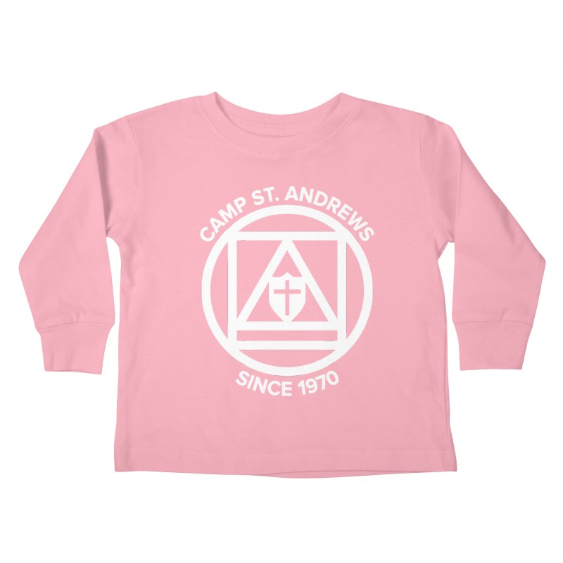 CSA Scarf Symbol Kids Toddler Longsleeve T-Shirt by Camp St. Andrews