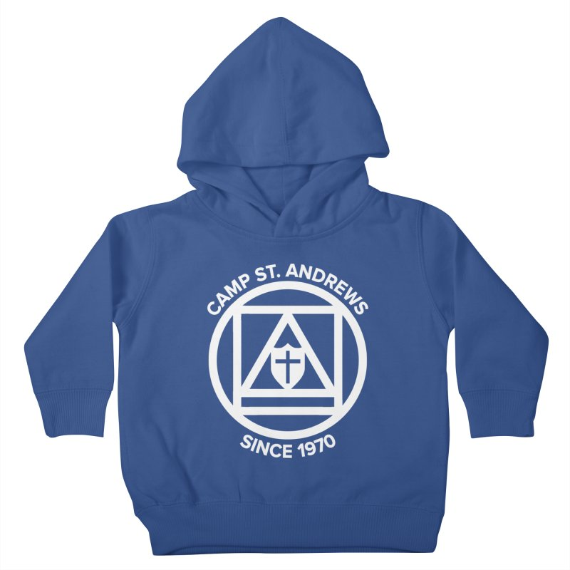 CSA Scarf Symbol Kids Toddler Pullover Hoody by Camp St. Andrews
