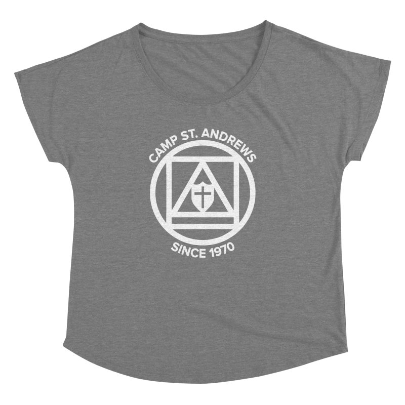 CSA Scarf Symbol Women's Scoop Neck by Camp St. Andrews