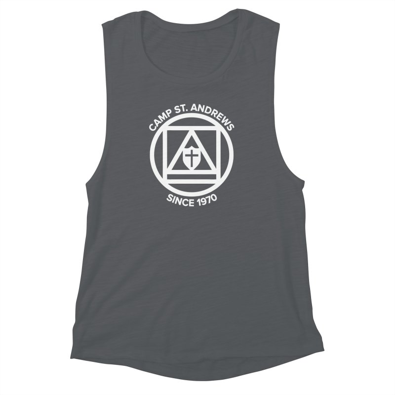CSA Scarf Symbol Women's Muscle Tank by Camp St. Andrews