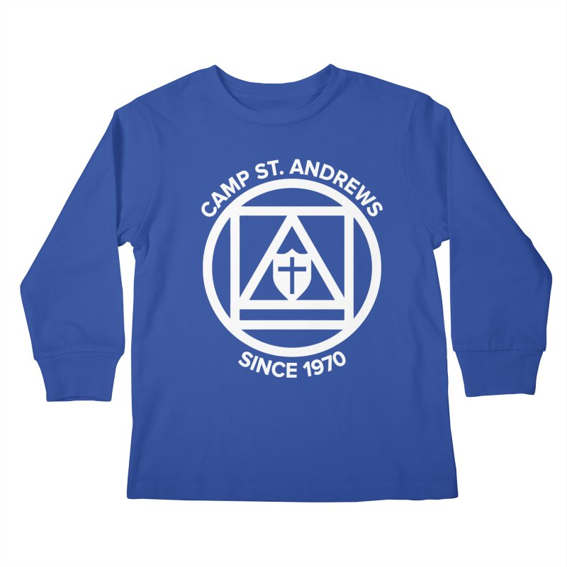 CSA Scarf Symbol Kids Longsleeve T-Shirt by Camp St. Andrews