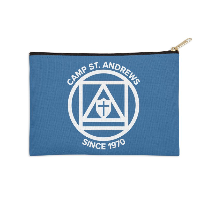 CSA Scarf Symbol Accessories Zip Pouch by Camp St. Andrews