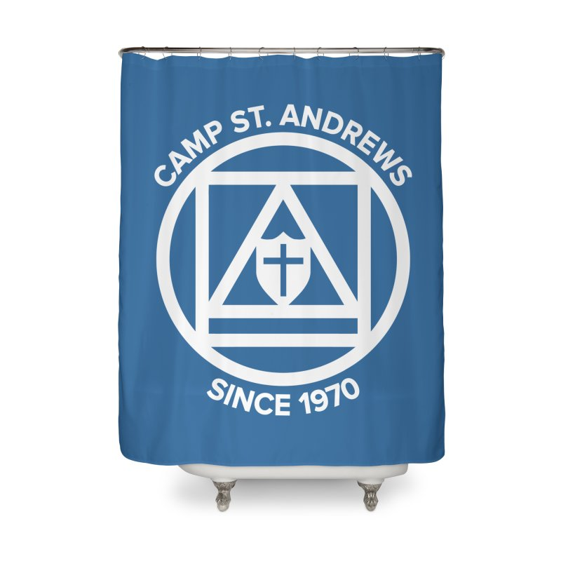CSA Scarf Symbol Home Shower Curtain by Camp St. Andrews