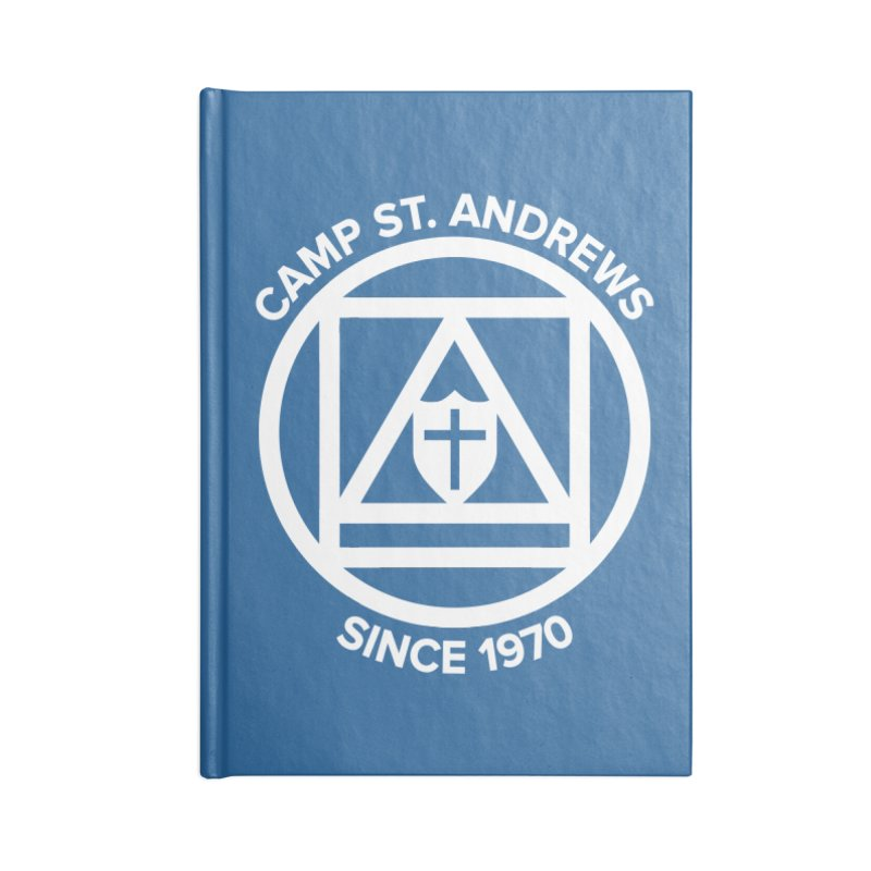 CSA Scarf Symbol Accessories Notebook by Camp St. Andrews