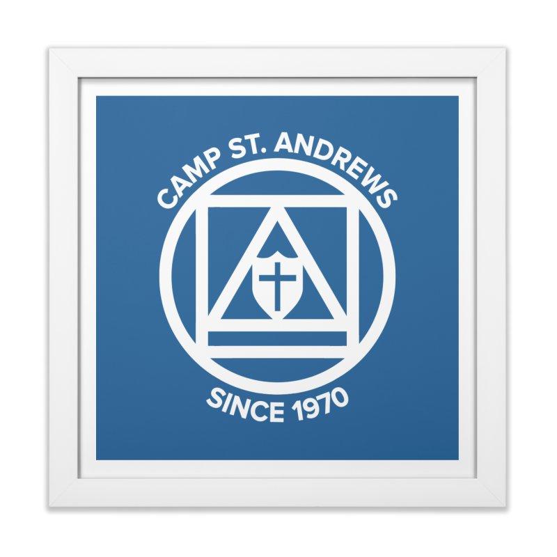 CSA Scarf Symbol Home Framed Fine Art Print by Camp St. Andrews