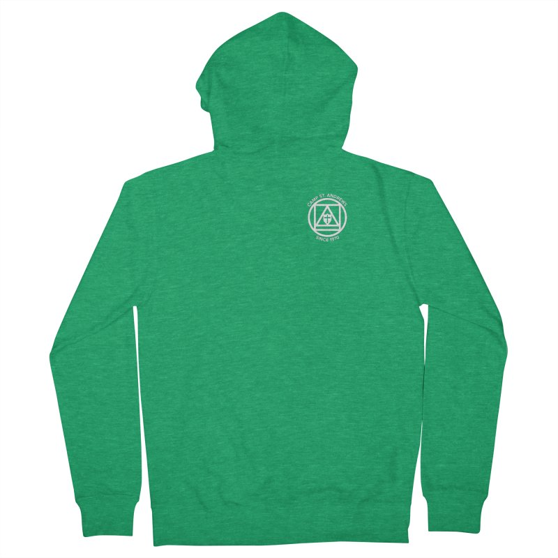 CSA Scarf Symbol Women's Zip-Up Hoody by Camp St. Andrews