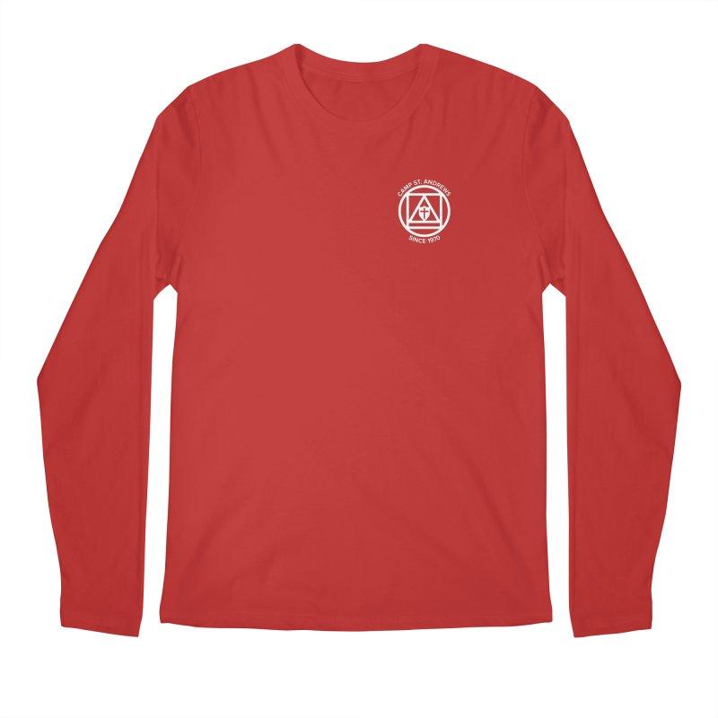 CSA Scarf Symbol Men's Regular Longsleeve T-Shirt by Camp St. Andrews