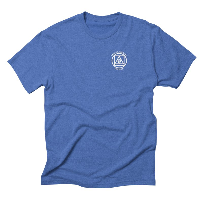 CSA Scarf Symbol Men's Triblend T-Shirt by Camp St. Andrews