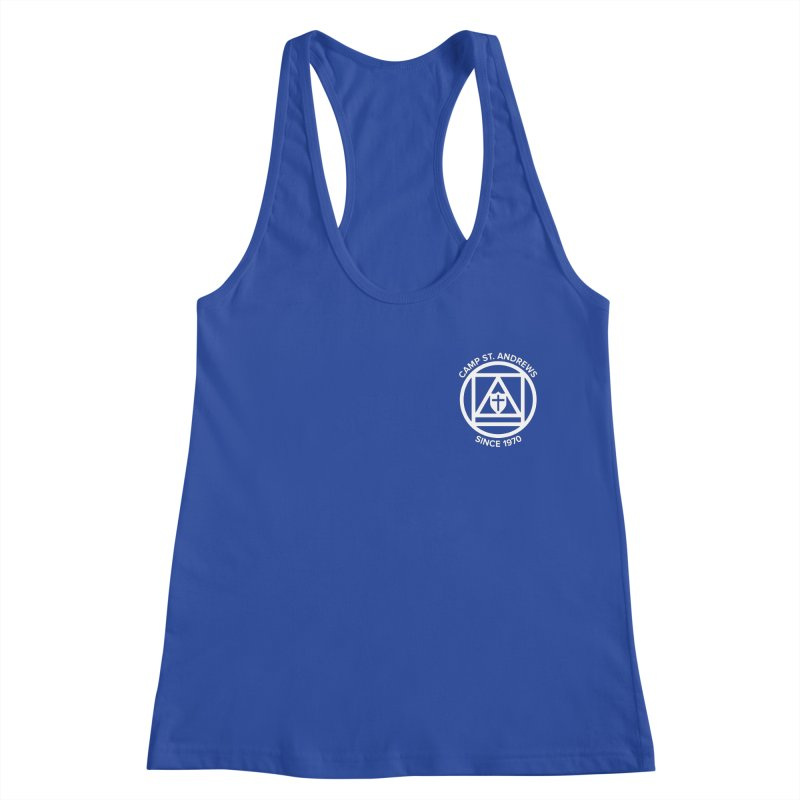 CSA Scarf Symbol Women's Racerback Tank by Camp St. Andrews