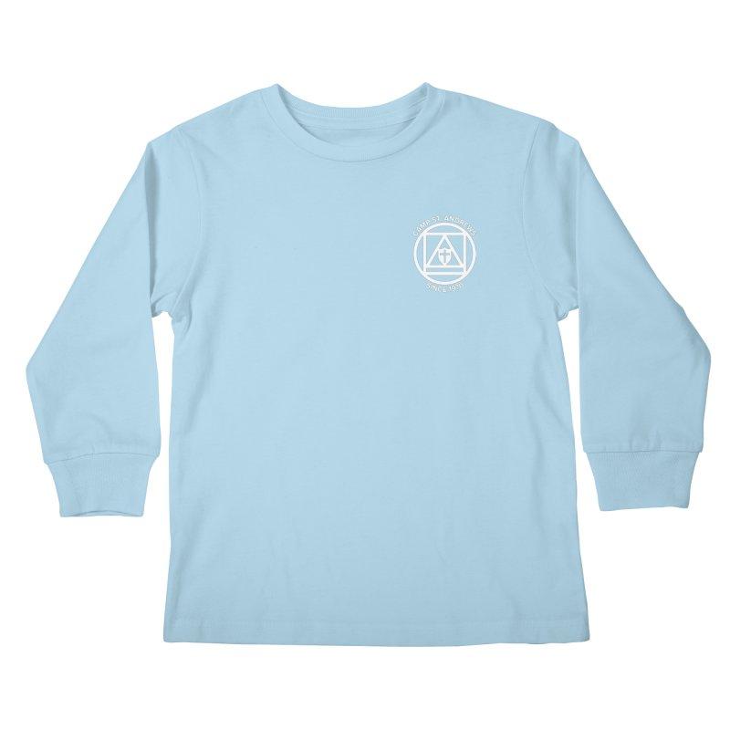 CSA Scarf Symbol Kids Longsleeve T-Shirt by Camp St. Andrews