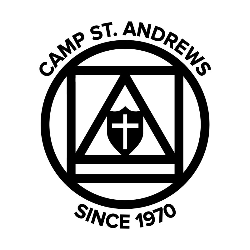 CSA Scarf Symbol Home Stretched Canvas by Camp St. Andrews