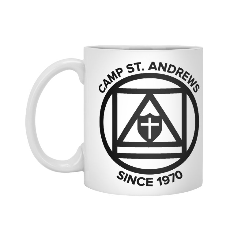 CSA Scarf Symbol Accessories Standard Mug by Camp St. Andrews